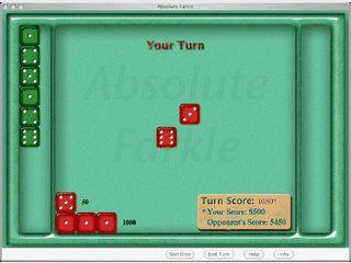 Würfelspiel für ein bis zwei Spieler. Kann komplett per Stimme gespielt werden.