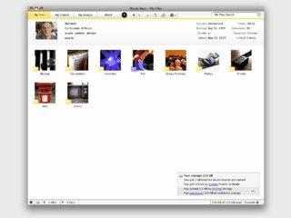 Desktop-Client für eine Onlinecommunity zum Filesharing.