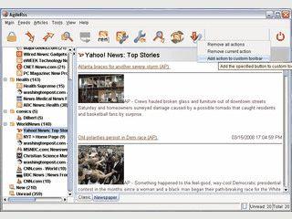 Newsfeeds der Formate RSS, ATOM und XML anzeigen.