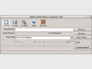 Konvertiert Videos in und aus verschiedenen Formaten.