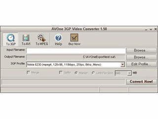 Konvertiert Videos in das 3GP Format zur Darstellung auf Handys.