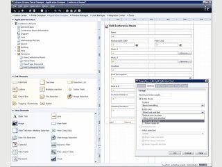 Software zur Erstellung von Internet- und Intranetportalen.