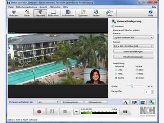 Auf dem PC Videos vom Bildschirm aufnehmen, von Webcam oder von Videogeräten.