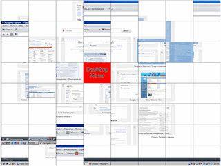 Einfacher Bildschirmschoner der den Desktop in 64 Teile splittet und mixt.