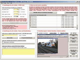 Einfache Software zur Erstellung von HTML-Bildergalerien