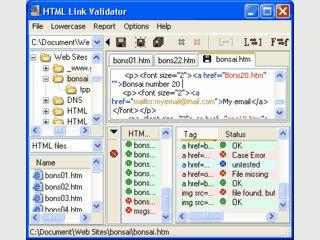 Professioneller Link Checker. Prüft unbegrenzt Seiten und Verweise.