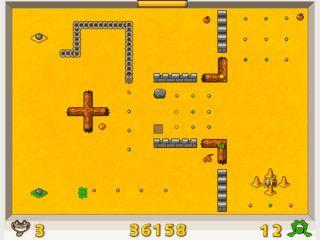 Einfaches Flashgame das an den Basic-Klassicer Snake angelehnt ist.