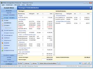Verwaltung und Analyse privater Finanzen. Auch für Finanzdienstleister verfügbar