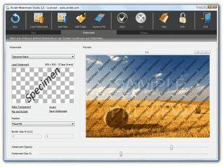 Software zum Einfügen von Wasserzeichen in Fotos und Bildern