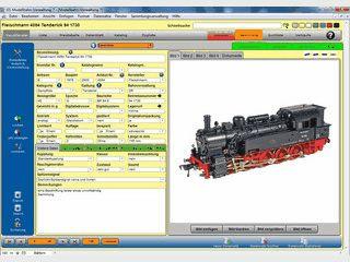 Software zur Verwaltung für Ihre Modellbahnsammlung.