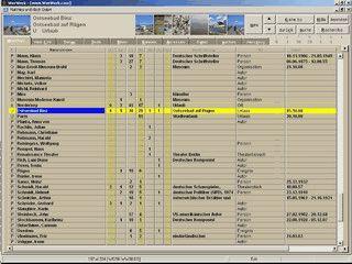 Software für die Verwaltung von beliebigen Informationen.