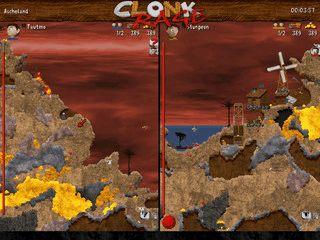 Clonk ist ein unterhaltsames, actionreiches Taktik- und Geschicklichkeitsspiel.