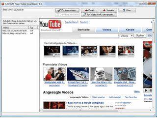 Videos von YouTube laden und auch in MP3 konvertieren.