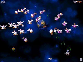 Space Invaders Clone der mit Humor und guter Grafik glänzt.