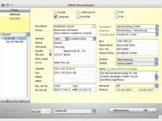 Kontaktmanagement und Auftragsabwicklung.
