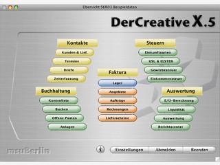 Software für die Büroorganisation in Mac Agenturen.