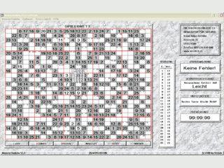Sudoku-Variante bei der Sie mit 25 x 25 Feldern und den Zahlen 1 - 25 spielen.
