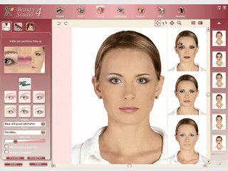Software zurm digitalen Schminken am eigenen Foto.