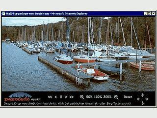 Java-Applet zum Betrachten von Panorama-Bildern in HTML-Dokumenten.