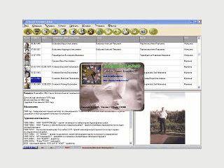 Software zur Erstellung eines Familienstammbaums mit Biografien der Familie.
