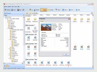 Bequeme Schnittstelle für Verwaltung aller Dateien im PC.