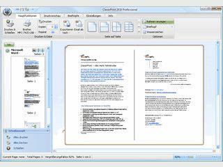 Druckt mehrere Seiten auf ein Blatt Papier und spart bis zu 50% Druckkosten