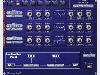 Analoger VST-Synthesizer Sounds: Bässe, Leads, FX, Percussions und z.B. Klavier.