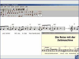 Notenscan-Programm mit Exportmöglichkeiten als MIDI, NIFF und MusicXML