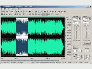 Software zur Bearbeitung und Konvertierung von Audiodateien.