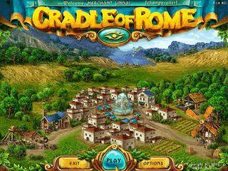 Casual-Denkspiel das im alten Rom spielt.