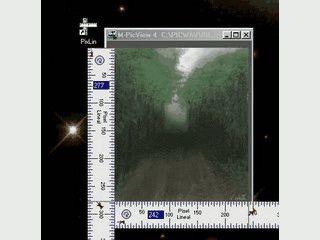 Digitales Pixel-Lineal, Design- und Grafik Tool
