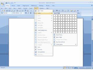 Klassische Menüs und Symbolleisten im Multifunktionsleiste von Word 2007 zeigen