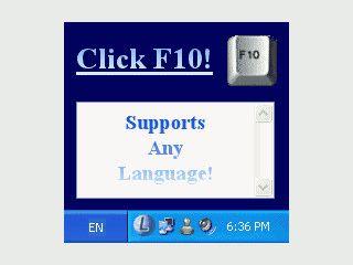 Korrigiert automatisch Texte die bei falscher Tastatureinstellung getippt wurden