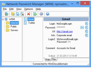 Passworterverwaltung die sich vornehmlich an kleine Betriebe richtet.