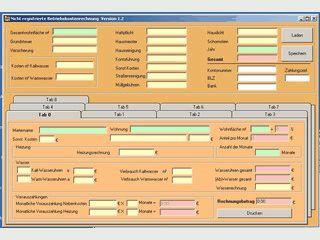 Nebenkosten- und Betriebskostenrechnung erstellen.