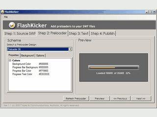 In wenigen Schritten einen Preloader für Flashanimationen erstellen.