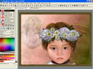 Kreativsoftware zum künstlerischen Gestalten/Erstellen von Bildern am Computer.