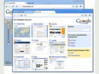 Schlanker Browser vom Suchmaschinenbetreiber Google