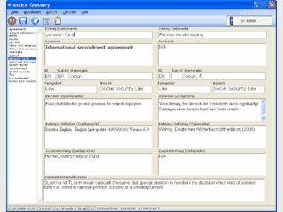 Astice Glossary ist ein Werkzeug für Übersetzer.