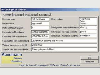 Eine Sammlung von Makros für Visual Studio 2003