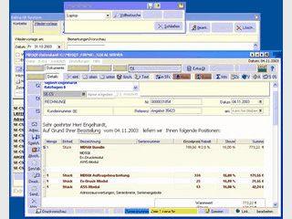 MD5Qt Auftragsbearbeitung und Kontaktmanagement