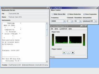 In Java programmierter Player für gängige Audioformate und MOD-Dateien
