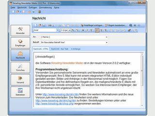 Personalisierte Serienmails und Newsletter versenden
