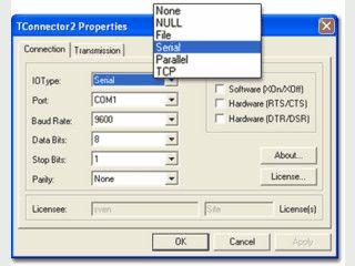 ActiveX Control für die Datenerfassung via RS232, TCP, USB und Bluetooth