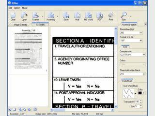 Software zum Einscannen von Dokumenten und Bildern vom Scanner