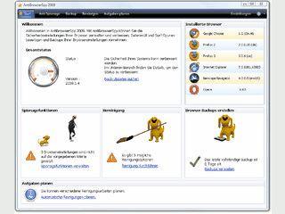 Schaltet Spionagefunktionen von Webbrowsern ab.