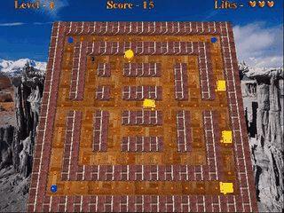 Einfacher Pacman Clone mit 50 Level in der Vollversion.