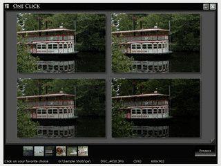 Optimiert Digitalkamer-Bilder mit nur einem Mausklick.