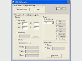 Screen Scrape erkennt Text aus beliebigen GUI und Konsolenfenstern per OCR