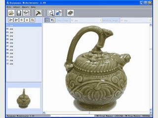 Software zur Erstellung vom interaktiven Flashfilmn vom 3D-Gegenständen